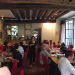 Cosy restaurant interior