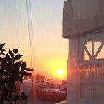 Beautiful sunset from Avocado