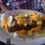 フレンチトースト(4種類から選べこれはハワイアン)*オールデイメニュー