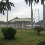 view from nehru park
