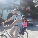 prima di una bella passeggiata in bici...