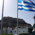 Lindos mit Akropolis
