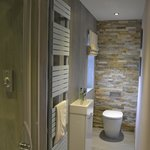 Our double room exclusive shower room