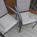 Broken pool chair