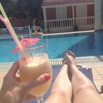 Can't get better than this, cocktails brought to you at your sun lounger. Picture doesn't do it
