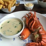 Half a lobster anyone ?
