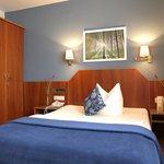 Businesszimmer mit Französischem Bett