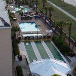 Outside pools