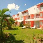 Vue d'un batiment du Karibea Resort Sainte Luce hôtel Amyris