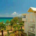 Vue sur la mer du Karibea Resort Sainte Luce hôtel Amyris