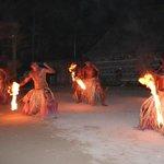 Flame dance at Robinson Crusoe Island - Must see