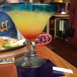 Tropical sunrise margarita