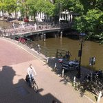 View from the Jasmine room onto Herengracht
