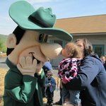 Even Ranger Smith gets kisses!