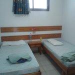 Bedroom in 1-bedroom apartment