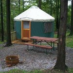 one of our yurts