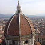 Cupola del Duomo dal Campanile di Giotto