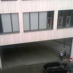 My room ..right above the street.