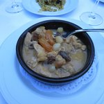 Chicken stew with apricots and almonds- favorite!