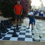 Early morning chess... 19.7.14