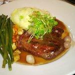 Fillet Steak & Mash@Writers Bar