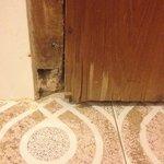Falling apart doorways
