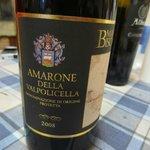Terenzio's Amarone (delicious!)