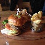 The Amazeballs pulled pork burger
