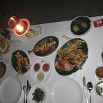 The 480,000 banquet for 2, also included a large Bintang, a small salad entree, small soup, pean