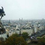 Vista das Torres da Catedral de Notre Dame