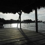 View from Costa Maya private dock