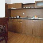 Кухня в отеле Efir