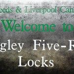 Bingley Five Rise Locks sign
