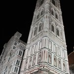 Night view of Santa Maria del Fiore (Duomo) built 1436