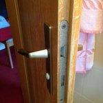 serratura rotta