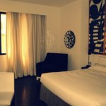 Hôtel agréable et moderne