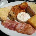 Full English Breakfast at Hadrian's