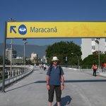 Tour du stade de Maracana.