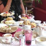 Afternoon Tea selection - delicious!