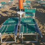 spiaggia fine giornata