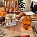 La tavola...