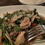 Midin salad. Oh-so-appetizing!