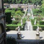 Garden from Palace Balcony
