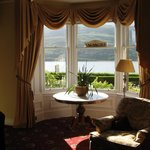 views of Loch from Common room