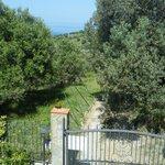 Gated Entrance to Baia di Trentova