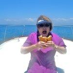 Sailing Sure Makes a Gal Hungry!