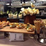 Some of the pintxos on offer
