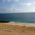Morning beach view