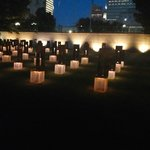 Chairs symbolizing the victims