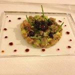 Tuna Avocado Olive salad
